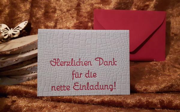 die-kleine-bleilaus - floh-karti - micro-cards, mini-karten, Einladung